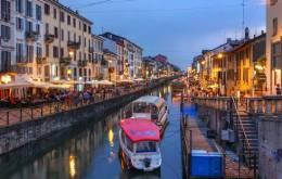 Intern in Milan, Italy